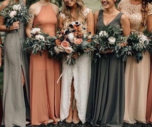 aesthetic, beauty, and bride image