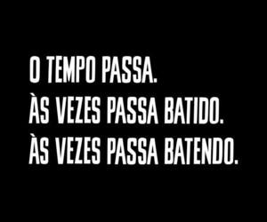 frase, tempo, and português image