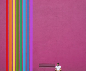 colors, rainbow, and carbajal image