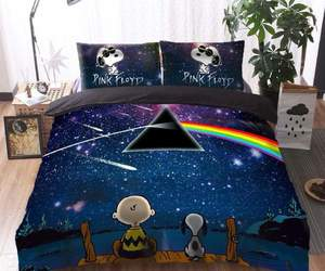 band, pinkfloyd, and bed image