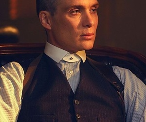 cillian murphy, tommy shelby, and peaky blinders image