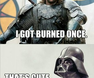 star wars, game of thrones, and funny image