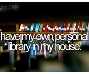 library, before i die, and book image