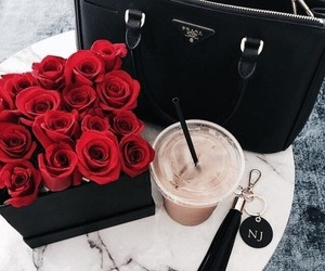 bag, beautiful, and drink image