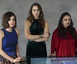 lucy hale, pretty little liars, and troian bellisario image