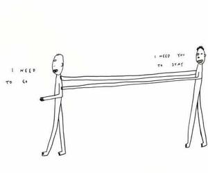 draws, let go, and sad image