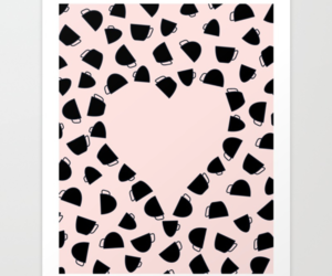 art print, graphicdesign, and heart image