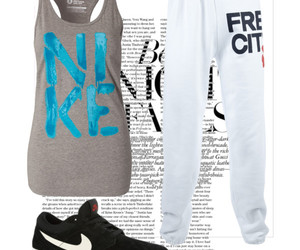 fashion, nike, and Polyvore image