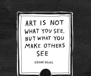 quotes, artist, and drawing image