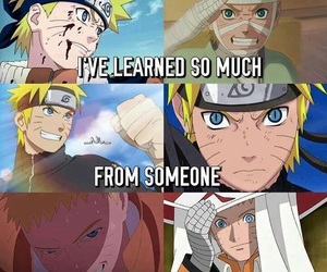naruto, anime, and someone image