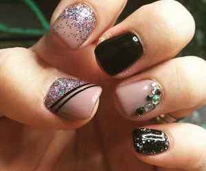 art, nails, and design image