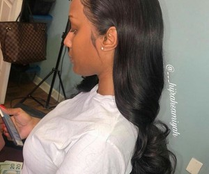 frontal and hair image