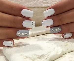 fashion, nail art, and unhas image
