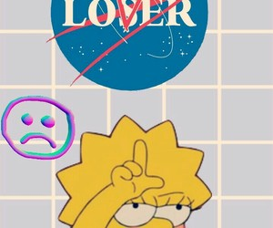 90s, the simpsons, and wallpaper image