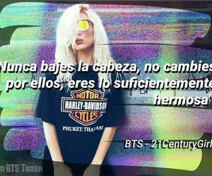 frases, girl, and kpop image