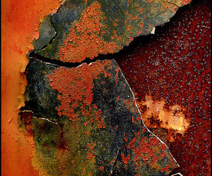 decay, rusted, and rust image