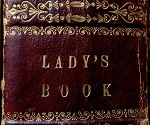 antique, burgundy, and binding image
