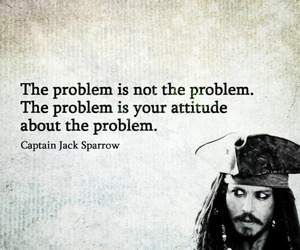jack sparrow, problem, and quotes image