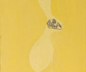 art, yellow, and illustration image