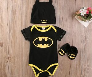 baby, batman, and mode image
