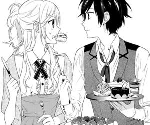 manga, anime, and horimiya image