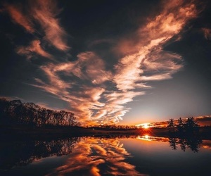 landscapes, reflection, and water image