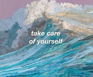 you first, self love, and self care image