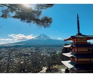 culture, fuji, and japan image