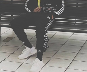 mens fashion, streetwear, and ootd image
