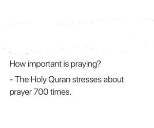 islam, pray, and quran image