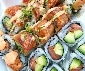 rolls and sushi image