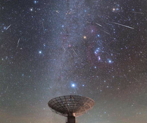 stars, astronomy, and galaxy image
