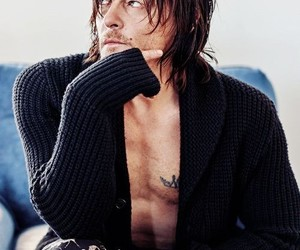 actor, man, and norman reedus image