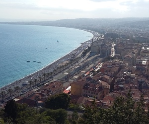 france, nice, and view image