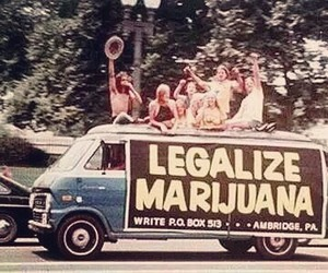 cannabis, high, and legalize image