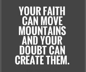 doubt, faith, and fear image