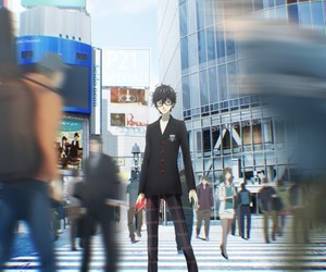 the animation, ren amamiya, and persona 5 image