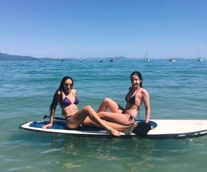 best friends, bikini, and brazil image