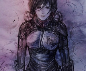 anime, attack on titan, and fanart image