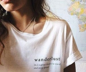 fashion, girl, and wanderlust image