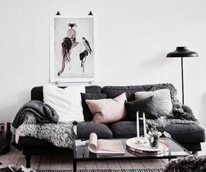 apartment, coach, and decor image
