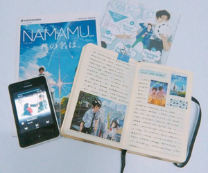 aesthetic, tumblr, and kimi no nawa image