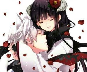 anime, inu x boku ss, and couple image