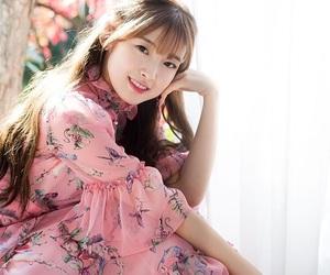 beautiful, pink dress, and beauty image