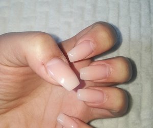 nails, gelnails, and naturlook image