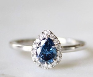 blue, jewelry, and love image