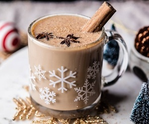 candy, christmas, and coffee image