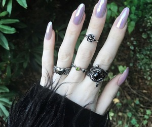 art, fashion, and rings image
