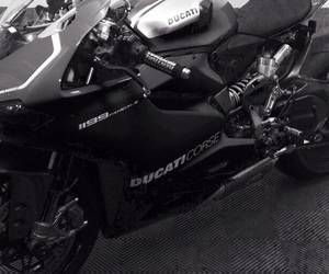 black, ducati, and motorcycle image