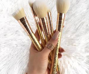 beauty, pretty, and brush image